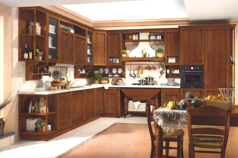 Fresh interior design kitchens designs for Modern classic kitchen design ideas