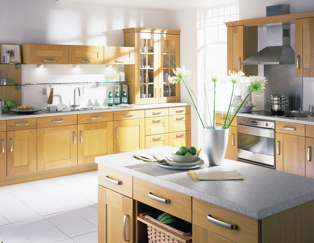 light oak kitchen designs